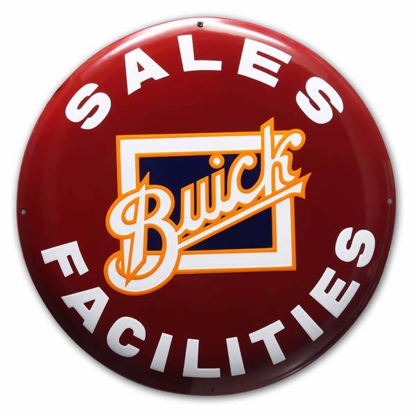 Emaille Autobord Buick Dealer (50 cm)