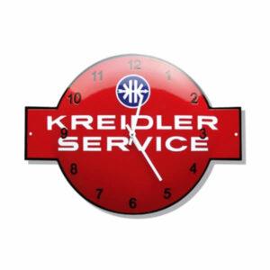 Emaille Klok Kreidler (53x40 cm)