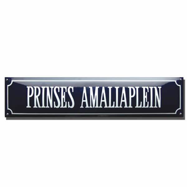 Emaille straatnaambord kader