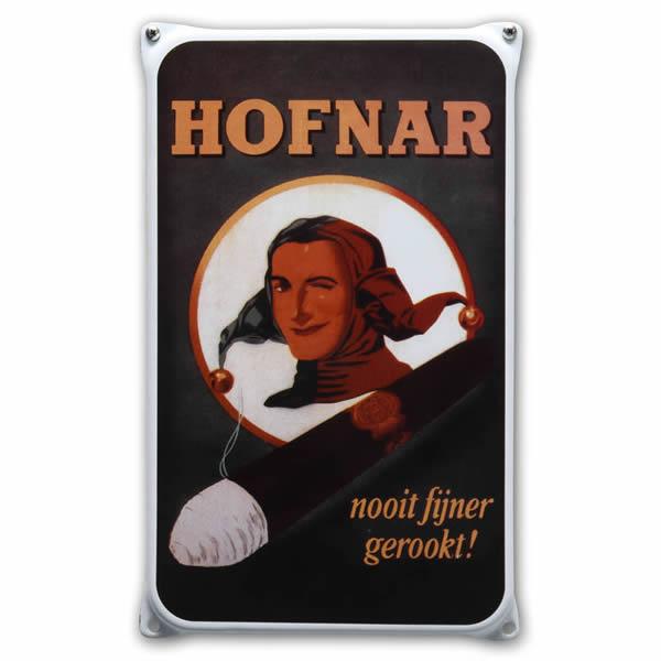 Emaille wandreclame Hofnar (20x33 cm)