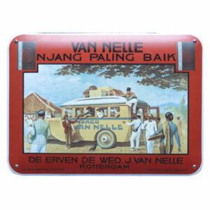Emaille wandreclame Van Nelle (50x35 cm)
