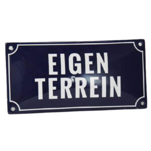 Emaille_Veiligheidsbord_Eigen_Terrein