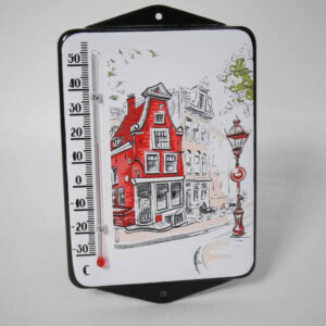 Emaille thermometer Amsterdam