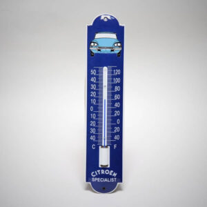 Emaille thermometer klein DS