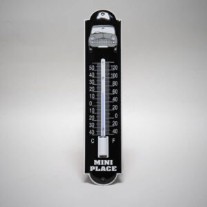 Emaille thermometer klein Mini