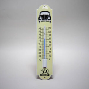 Emaille thermometer klein VW